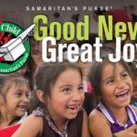 Operation Christmas Child logo and child